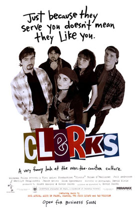 Kevin Smiths first movie Clerks