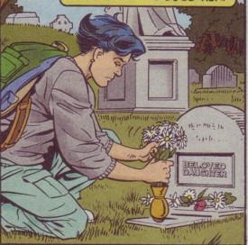 Tana's tombstone