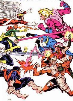 X-Factor Vs Alliance of Evil