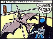 The earliest Batplane.