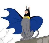Bat-Hound watching his city