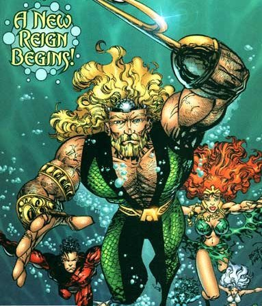 No-one wanted to steal Aquaman's beard. For no matter how much he tried to clean it, it still smelt of fish :p