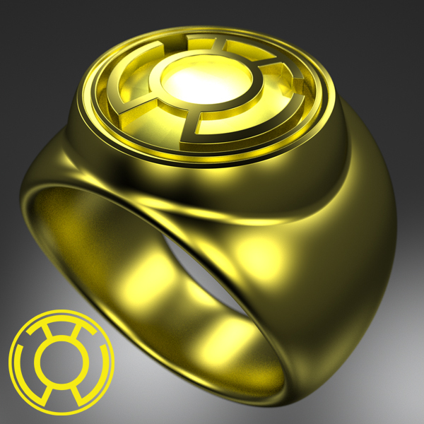 Yellow Power Ring