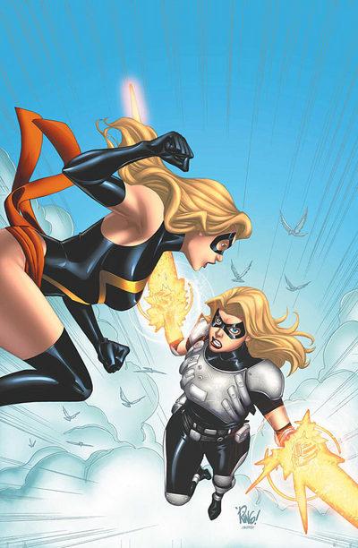 Ms. Marvel vs Warbird