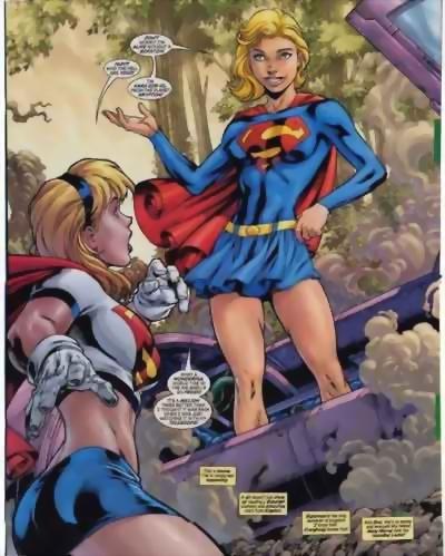 Supergirl meets Supergirl?