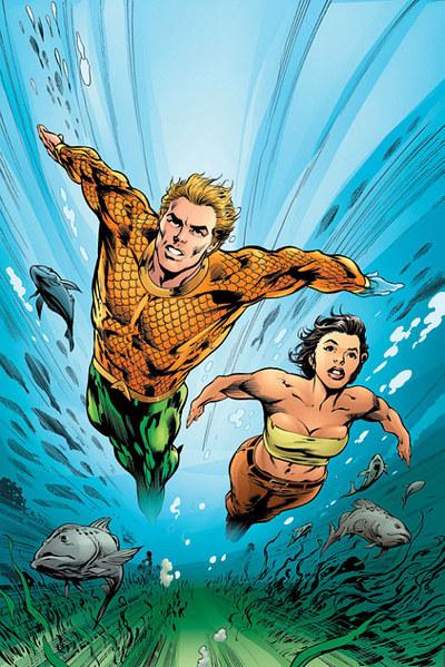 Lorena and Aquaman