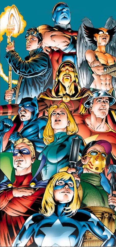 Hourman in the Justice Society of America