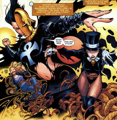 Black Alice's Borrowed Powers