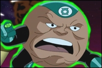 Galius Zed was one of the most reconizable Green Lanterns, due to his unique appearance.