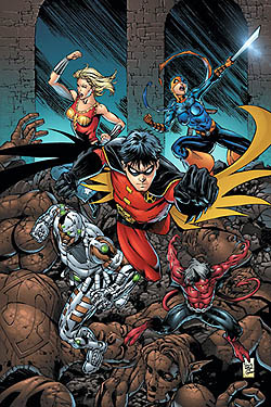 The One Year Later Teen Titans