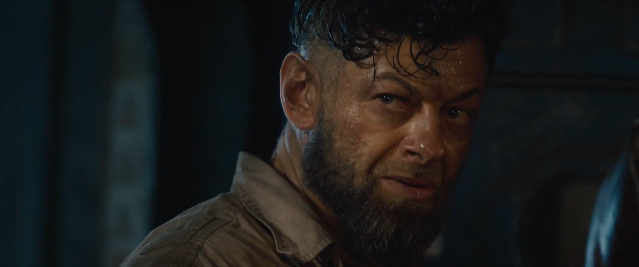 Who the heck is this guy? (Andy Serkis) EDIT: The internet is suggesting Ulysses Klaw.