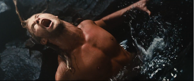 I wonder what astute excuse was made to get this guy shirtless (again).