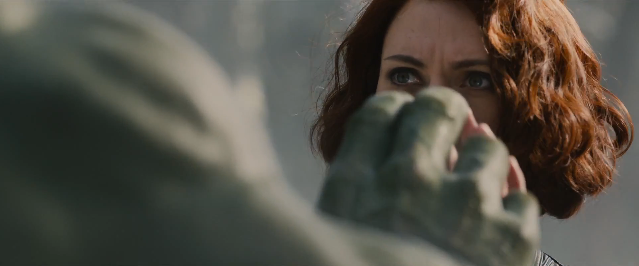 There were rumors about the Hulk and Black Widow having some sort of romantic relationship encounter. This confirms its validity.