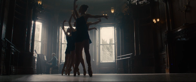 I wonder what relevance do these ballerinas have to the story.