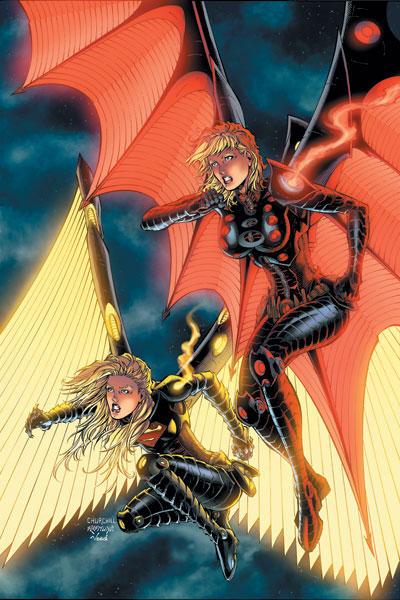 Supergirl &Power Girl
