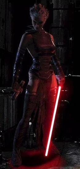 Dark Jedi and leader of the Bando Gora