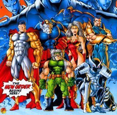 Brigade II-Supreme, Vanguard, Glory, Tremor, Roman, Shadowhawk, and Troll