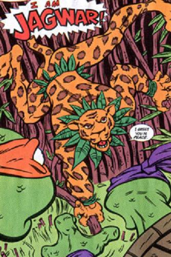 The TMNT's first encounter with Jagwar
