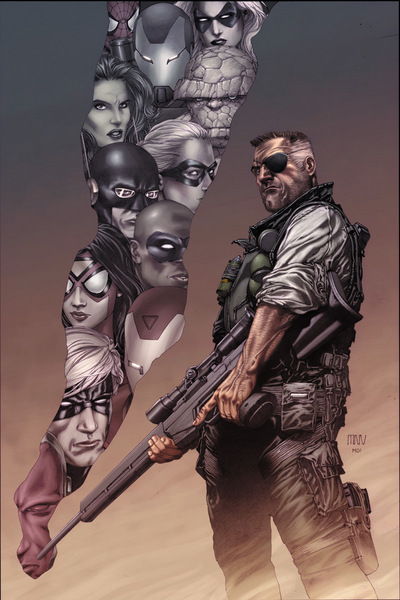 Nick Fury - Armed against the Secret Invasion