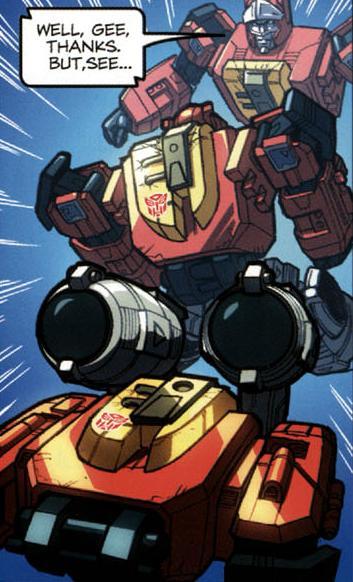 Transformation - TF Spotlight: Blaster