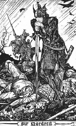 Mordred by H. J. Ford