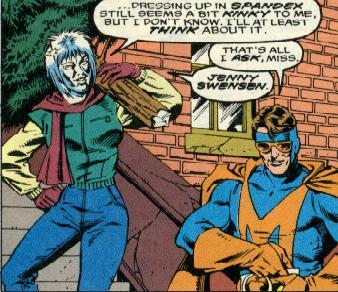 Superhero Sidekick