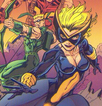 Hawkeye and Canary