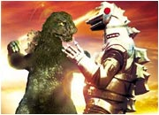 The original Mechagodzilla fighting Godzilla.