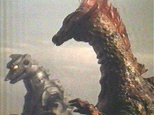 Mechagodzilla and Titanosaurus.
