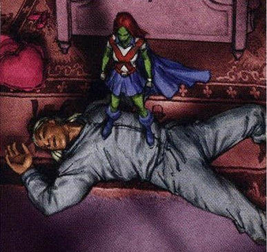 Busted by Miss Martian