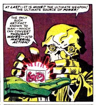 At first glance among the Cosmic Cube, Red Skull saw his oppurtunity to do what Hitler failed, which was to rule the world.