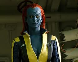 Jennifer Lawrence as the young Mystique