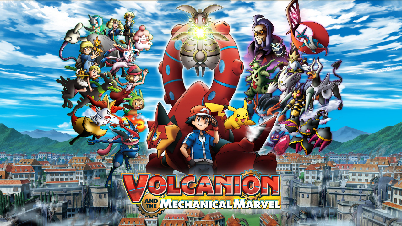 Pokémon the Movie: Volcanion and the Mechanical Marvel screenshots, images  and pictures - Comic Vine