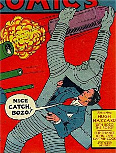the 1st Issue that had Bozo the Iron-man in it .