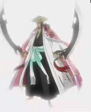 Shunsui releases his Shikai