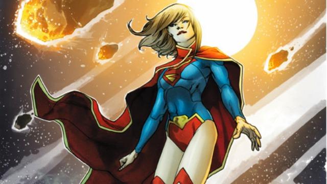 New 52 Supergirl re-design