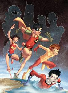 The original Teen Titans