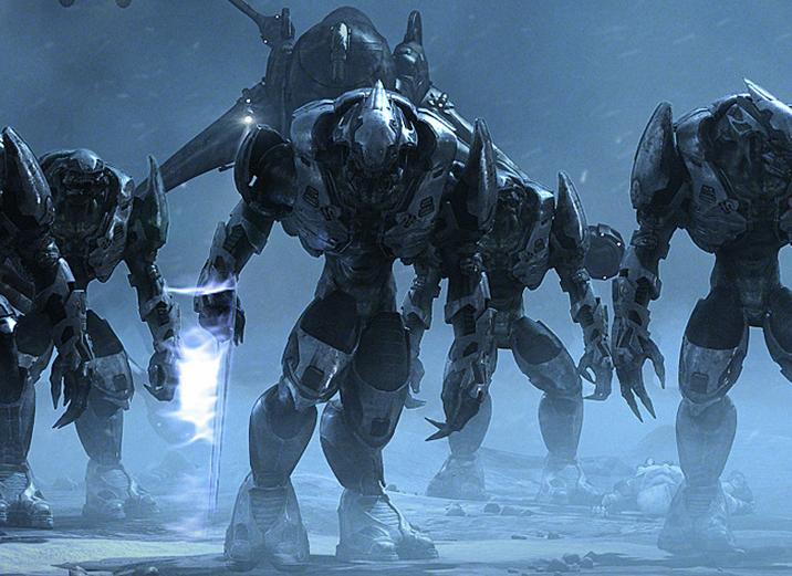 Covenant Elites, as shown in Halo Wars.