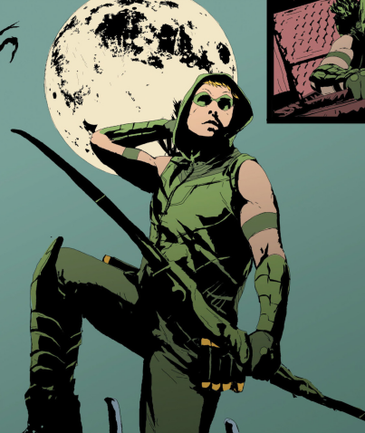 I can easily see Oliver Queen as the glue that holds a team together. He's got the personality to inspire just about anyone to be a hero, and coincidentally, I can see that rubbing off and making his teammates better heroes and better people.