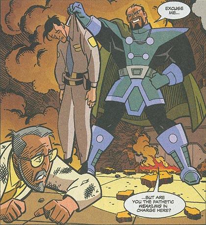 General Zod in the DCAU Comics