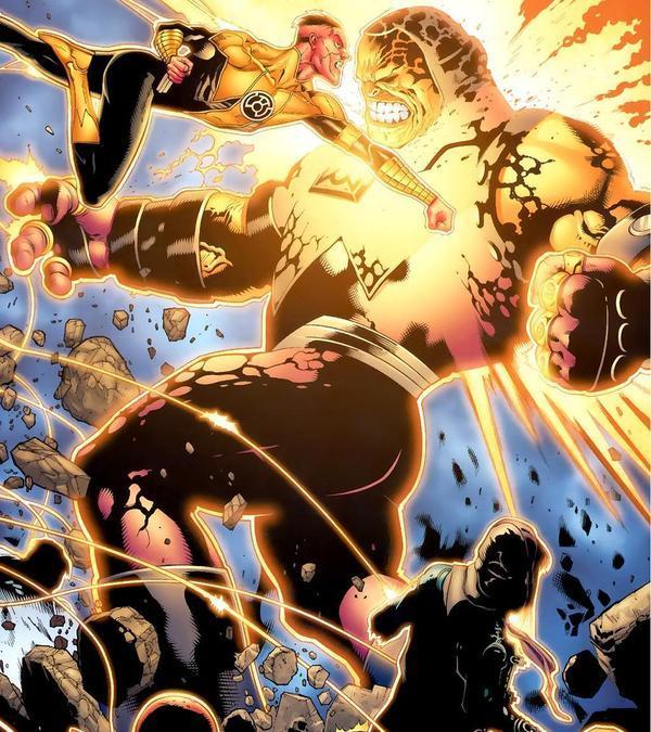 Sinestro vs Mongul
