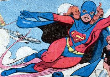Kristen Wells as Superwoman