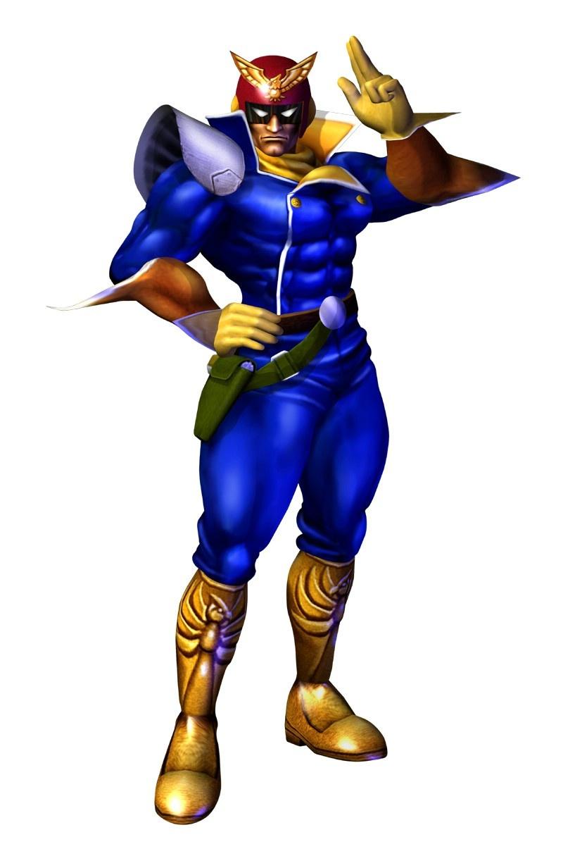 Captain Falcon in F-Zero GX/AX