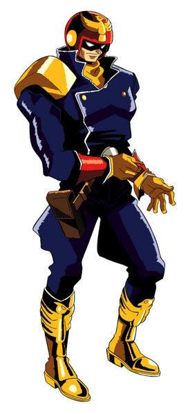 Captain Falcon in F-Zero GP Legends