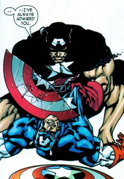 Anti-Cap vs. Captain America