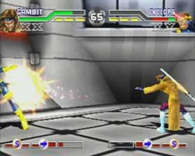 Gambit versus Cyclops