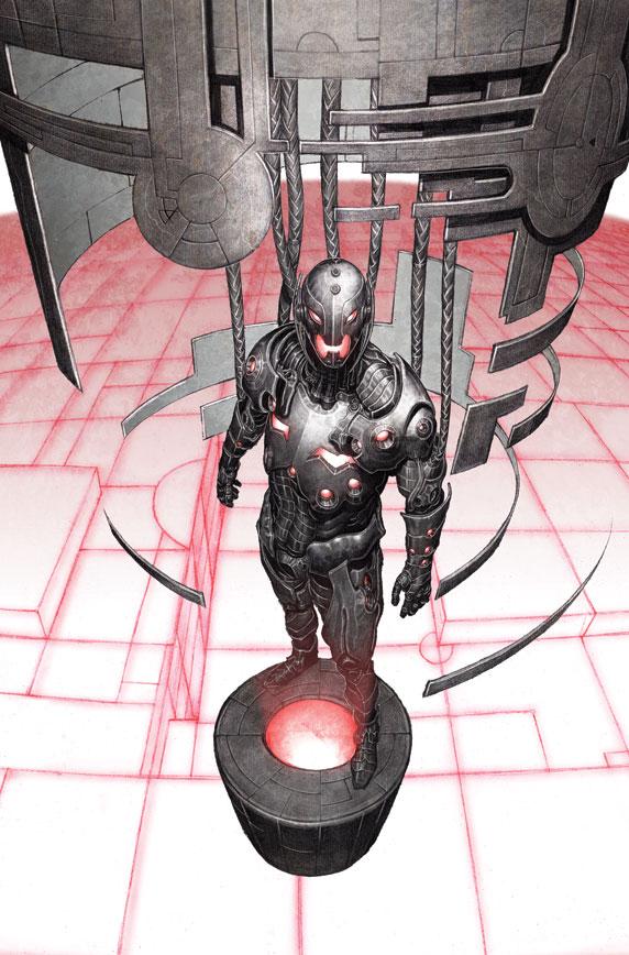 Age of Ultron #1 by Adi Granov