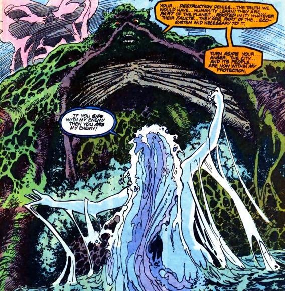 Naiad vs Swamp Thing