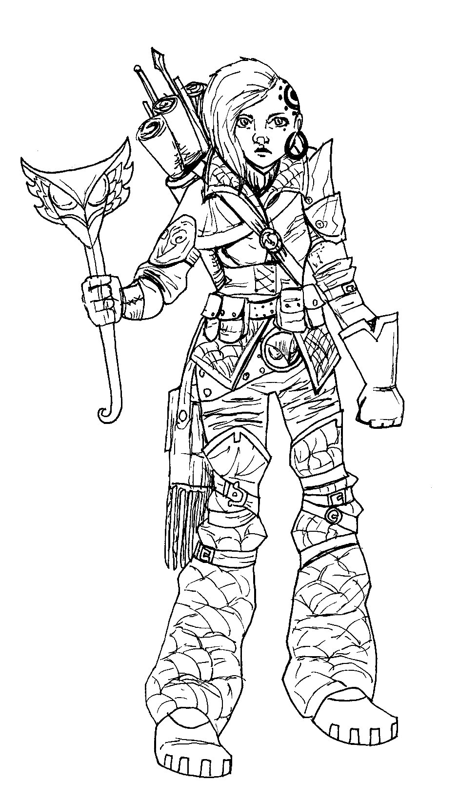 Gertrude Ivast/Artificier/female human?-dwarf?-halfling? personally I cant tell :P