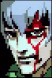 Gray Fox shortly after his battle with Solid Snake